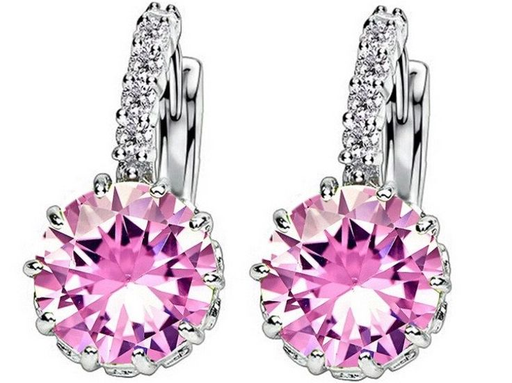 Amazing earrings zircon kod 098318