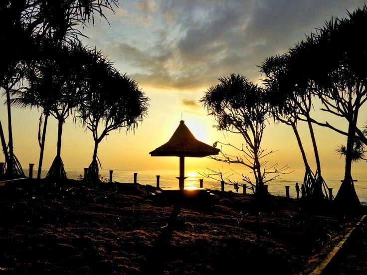 pantai batu hiu , Pangandaran , Indonesia