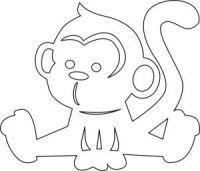 """Gallery.ru / Oh73 - Альбом """"Вырезанки-обезьянки"""""""