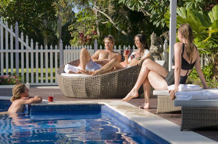 The Manse swimming pool. It is huge! www.mullumsari.com