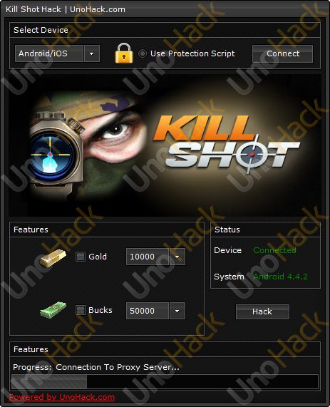 Kill Shot Hack will allow you to add unlimited gold and bucks. Download today and enjoy! #killshot #killshothack