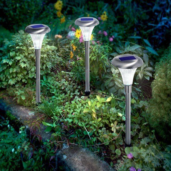 Solcellelamper, perfekte som stiopplysning <3