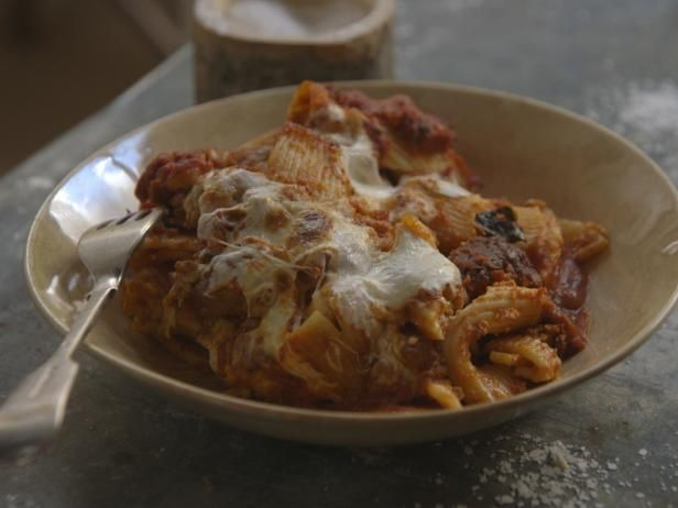 Get Laura Vitale's Laura's Pasta al Forno with Sugo Recipe from Cooking Channel