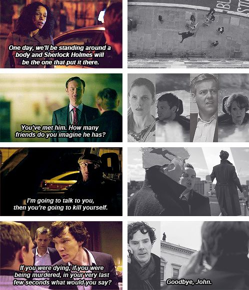 First and last aired episodes of Sherlock. Eerie.