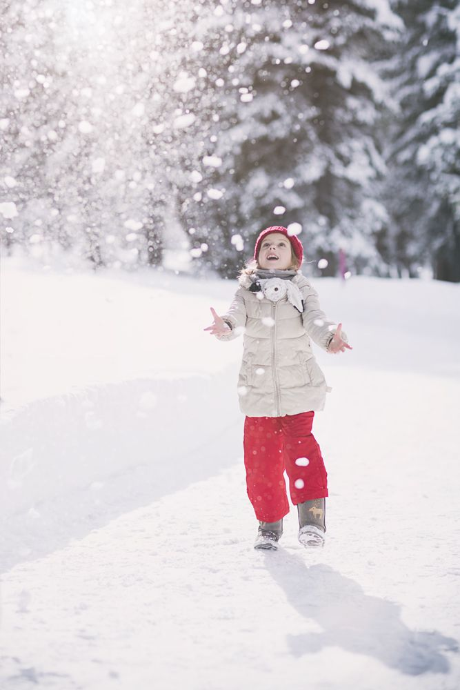 Winter pictures of the kids