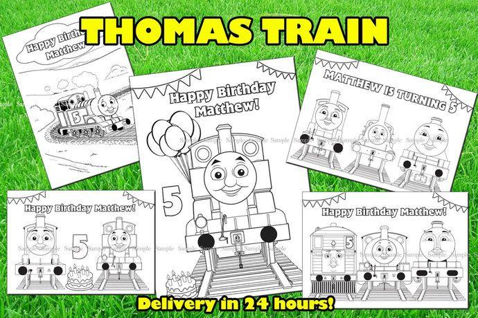 Thomas Train Coloring Book Thomas And Friends Printable Book Thomas And Friends Birthday Party Thomas Train Coloring Pages Thomas Favor Train Coloring Pages Thomas And Friends Friend Birthday