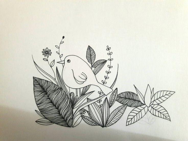 Ilustración hojas