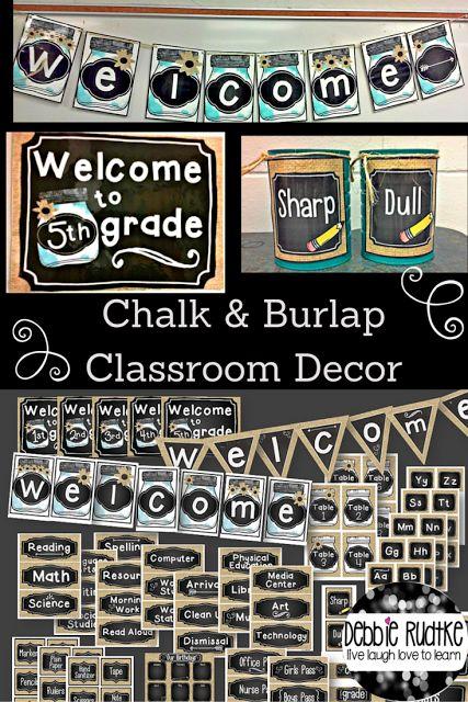 Neutral Classroom Decor ~ Best ideas about chalkboard classroom on pinterest