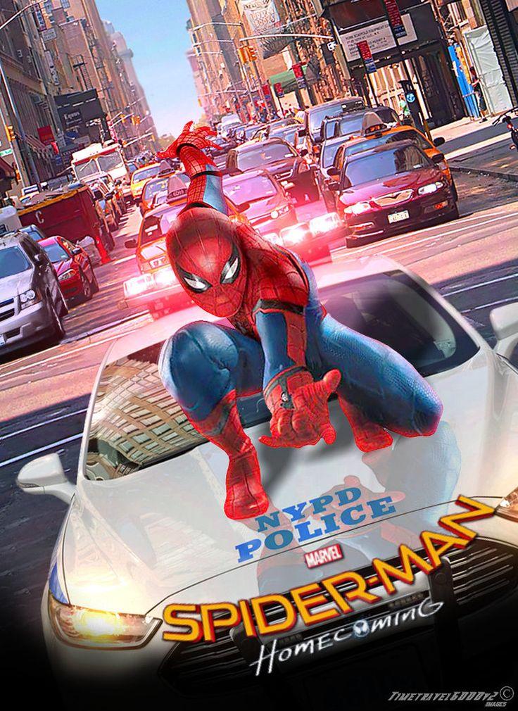 Marvel Spider-man: Homecoming 2017 Teaser Poster by Timetravel6000v2 on DeviantArt