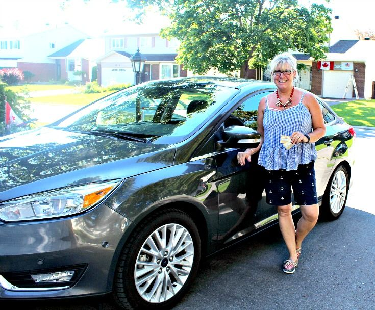 Back in my world, Ford Canada has provided me with a Ford Focus Titanium for the week.  Cannot wait to start enjoying my #FordSummer Adventures.
