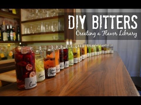 DIY Bitters- Create Your Flavor Library - YouTube