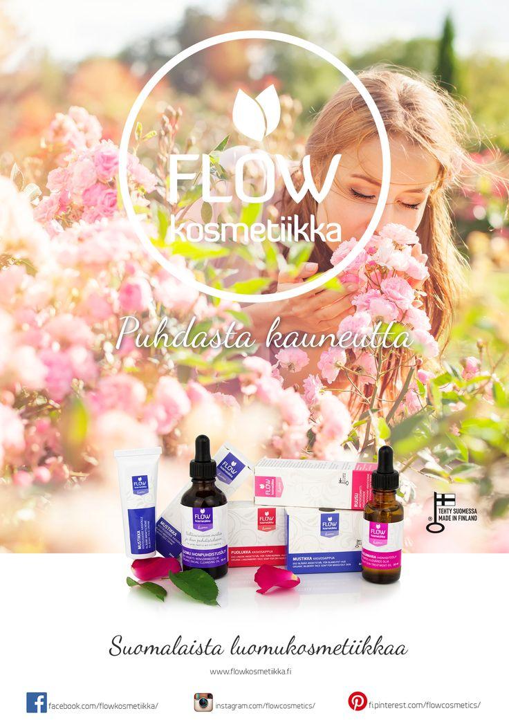 Suomalaista luomukosmetiikkaa Organic cosmetics from Finland http://www.flowkosmetiikka.fi