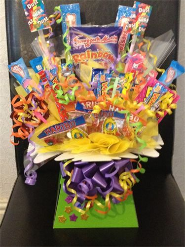 Homemade Gift Ideas | Sweet / Candy Bouquet. Perfect for Birthday, Valentines, Easter Mothers Day or Christmas gift