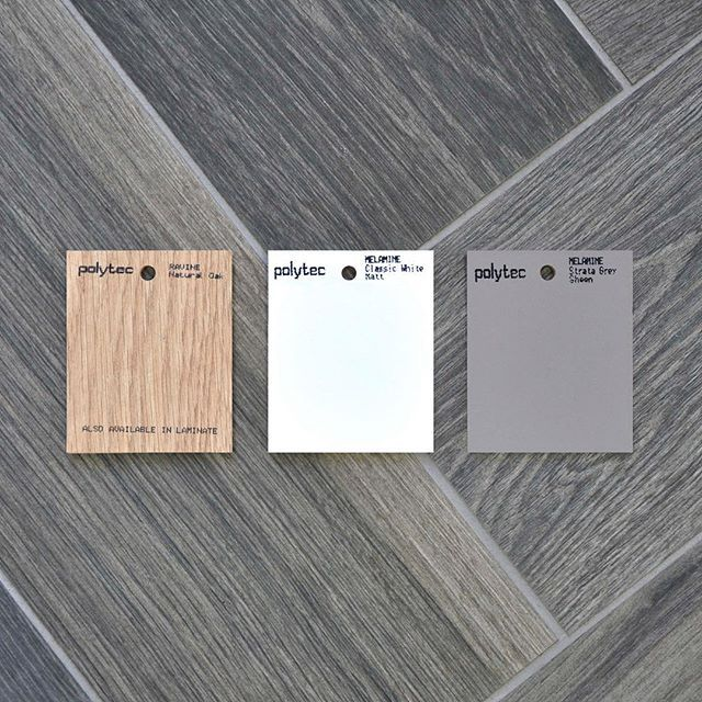 Create your look Are you looking for a fail safe colour combination but can't make up you mind? This colour palette will stand the test of time and help you create a beautiful, warm and inviting space. #polytec #polytectips #polytecravine #kitcheninspo #kitchendesign #interiordesign #naturaloak