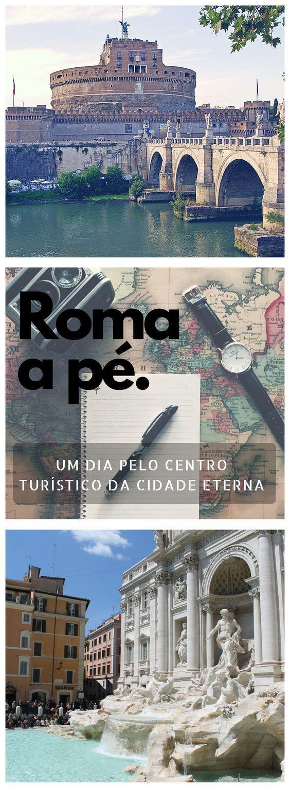 Roteiro de um dia pelo centro turístico de Roma
