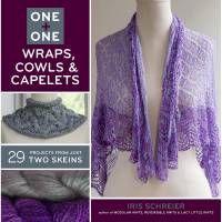 Книга One + One Wraps, Cowls & Capelets (LB-08056)