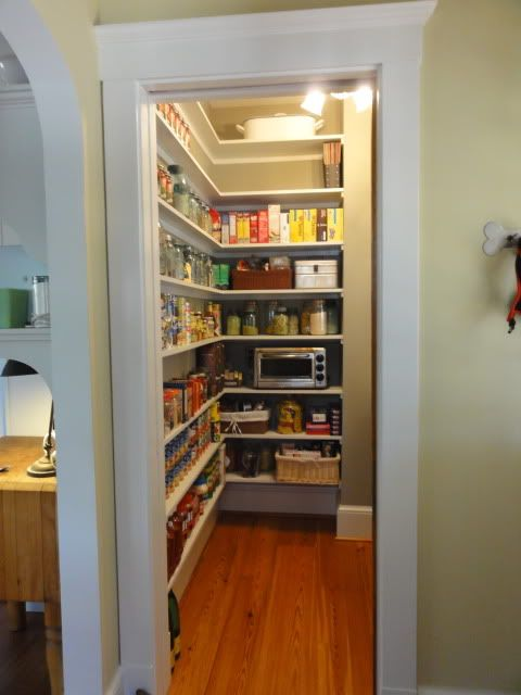 Narrow Pantry Shelves 41 2 Deep Nice For The Home