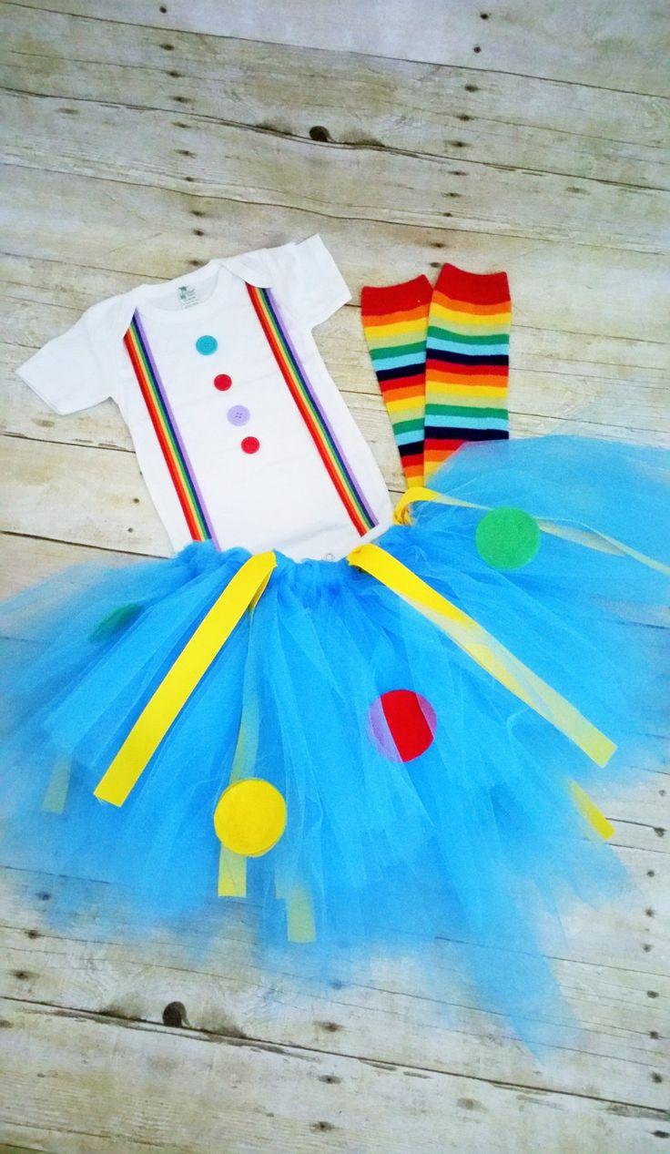Girl Clown Outfit, birthday Clown Outfit, circus cake smash, tutu,clown costume,clown Cake Smash,Halloween clown costume, rainbow legwarmers by RYLOwear on Etsy https://www.etsy.com/listing/235716442/girl-clown-outfit-birthday-clown-outfit