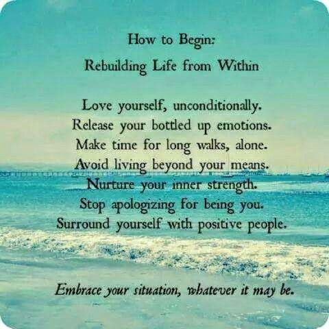 Rebuilding your Life.Mildred Williams