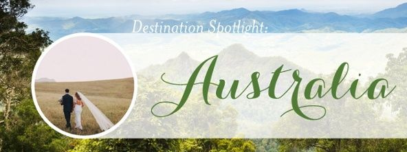 Discover a destination wedding in Australia @destweds
