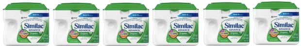 Similac Advance Organic Infant Formula Only $117 For 6 Containers Shipped!