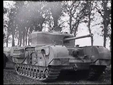 The Dieppe Raid and the failure of the churchill tank