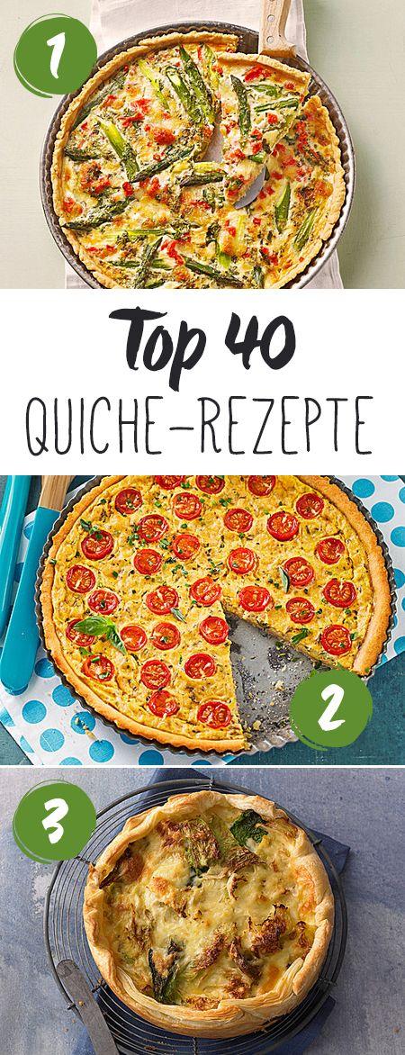 Ob leckere Quiche Lorraine oder vegane Quiche, hier findet ihr die leckersten Quiche Rezepte!