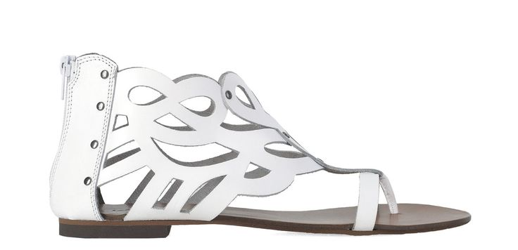 #Kazar Białe półsandały 24187-16405-01-01 z kolekcji 2014 - sklep internetowy Kazar