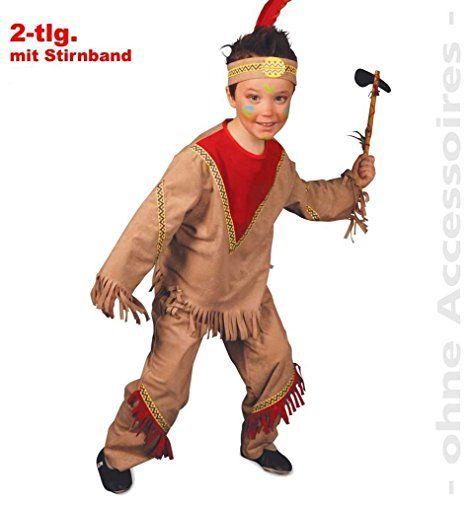 """Indianerkostüm für Jungs, """" Winnie """" Indianerjunge, kleiner Indianer, Häuptling, Apache, Indianerhäuptling, Kinderkostüm, Mottoparty, Karneval, Wilder Westen, Western, Wild West, versch. Größen"""