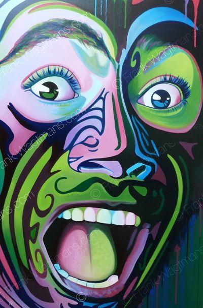 "Portrait ""Maori spirit"" by Frank Wagtmans"