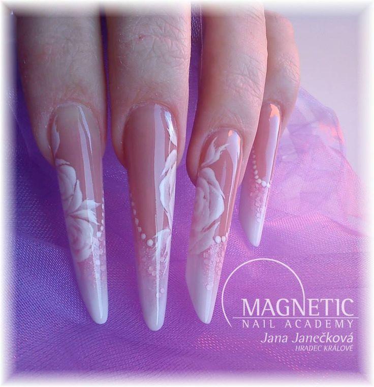 Nails with the new Pastel Pink Matte Glitter (108233) by Jana Janečková