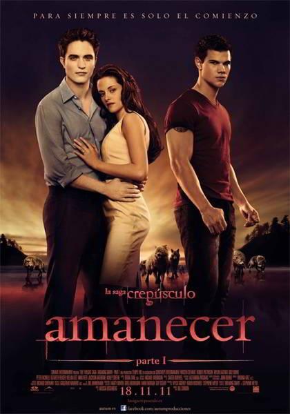 ver Crepusculo 4 Amanecer Parte 1 2011 online descargar HD gratis español latino subtitulada