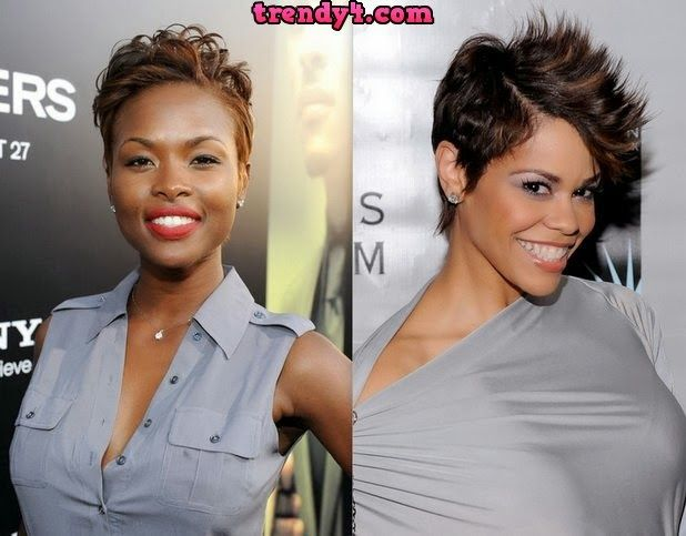 Superb 1000 Images About Short Hair Cuts On Pinterest Black Women Hairstyles For Women Draintrainus
