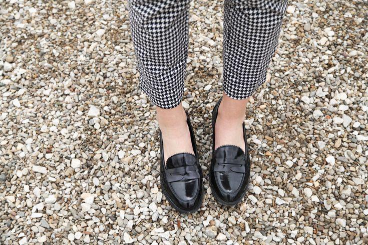 #fashion #shoes mocassini neri lowcost
