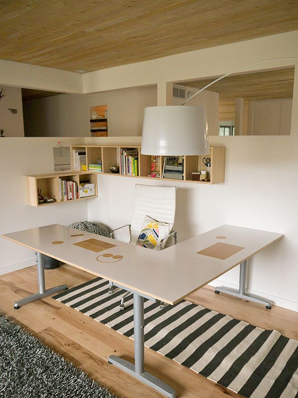 design for mankinds ultra modern chic home office
