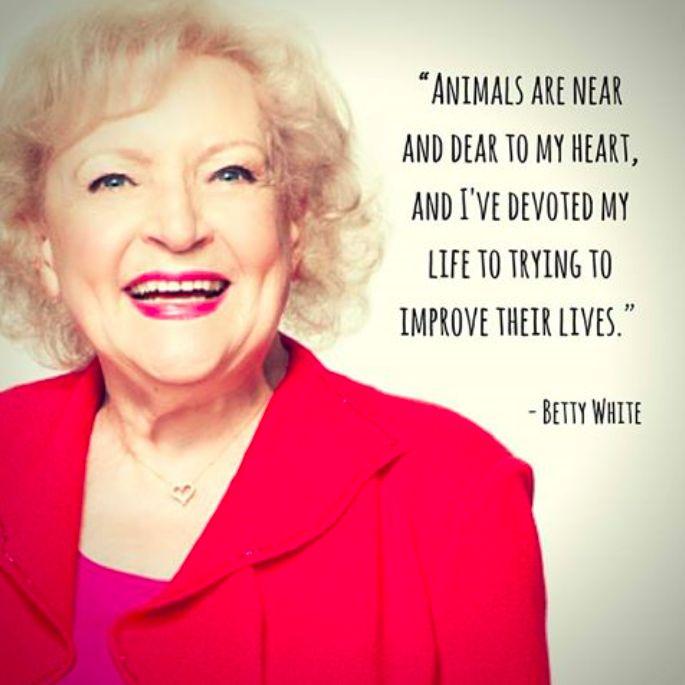 Betty White <3 #MyVeganJournal