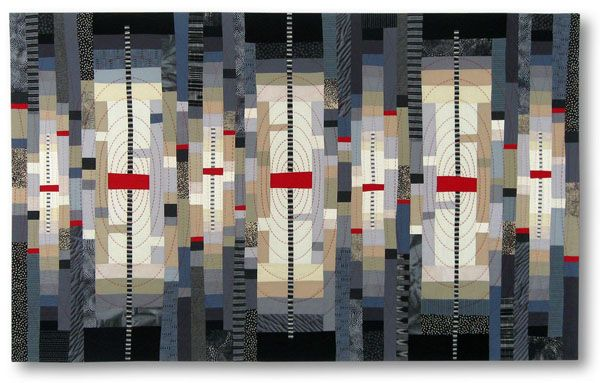 Mary & Patch: Pinterest lead me to... Liz Kuny art quilt