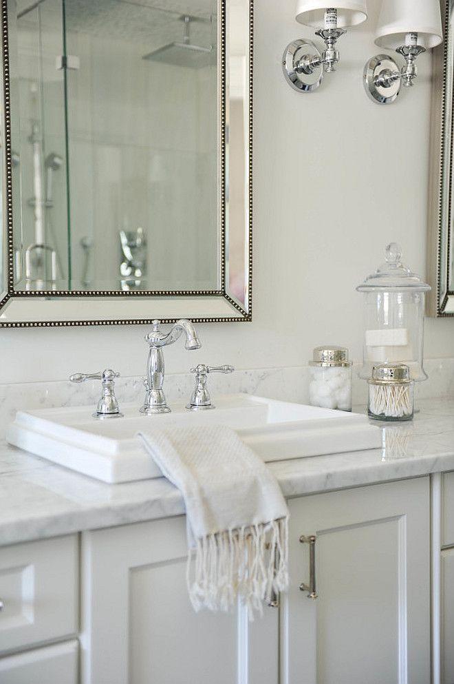 White, Bathroom, Sink. Monika Hibbs.