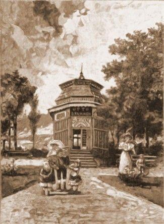 Vatra Dornei, Izvorul lui Otto
