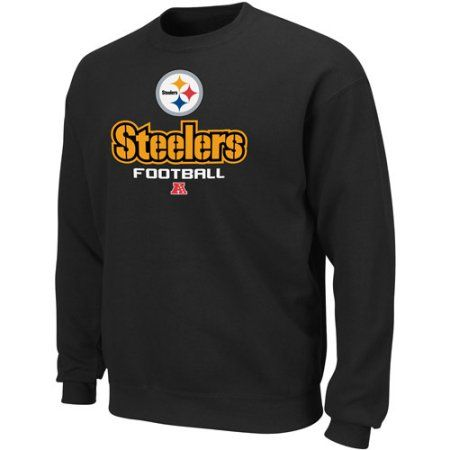 NFL - Big Men's Pittsburgh Steelers Sweatshirt, Black