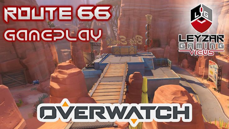 Overwatch Gameplay - Feeling the Pain on Route 66 (Escort with Soldier: ...