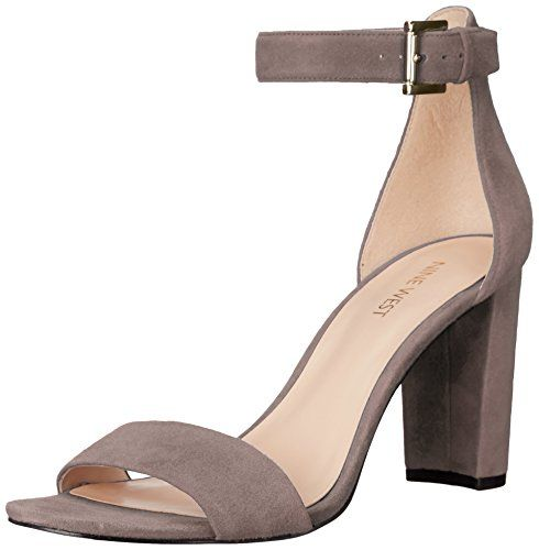 Nine West Women's Nora Suede Dress Sandal, Grey, 5 M US N... https://www.amazon.com/dp/B01DU6OLP0/ref=cm_sw_r_pi_dp_ogmNxbG2EBX3Y