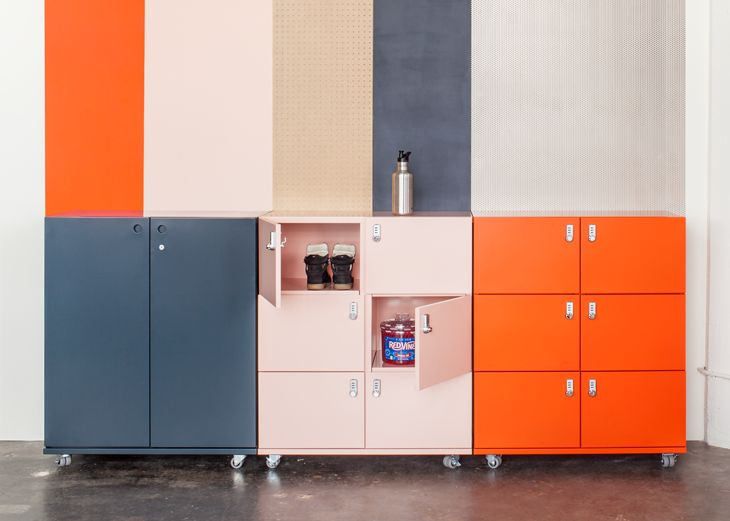 Our lockers were built to serve as secured storage solution. Configure with our other Building Blocks to design a system that's perfectly planned for you.