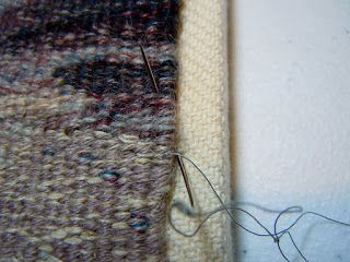 Tapestry Share: Mounting/finishing method for small tapestries from Tommye Scanlin