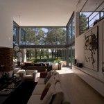 Maison design au Portugal-Piece a vivre