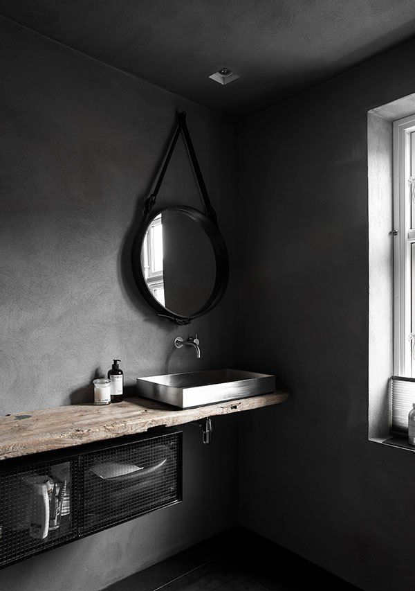 Best 25+ Black bathrooms ideas on Pinterest | Dark bathrooms ...
