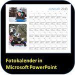 So erstellen Sie einen Fotokalender für das Jahr 2013 mit PowerPoint