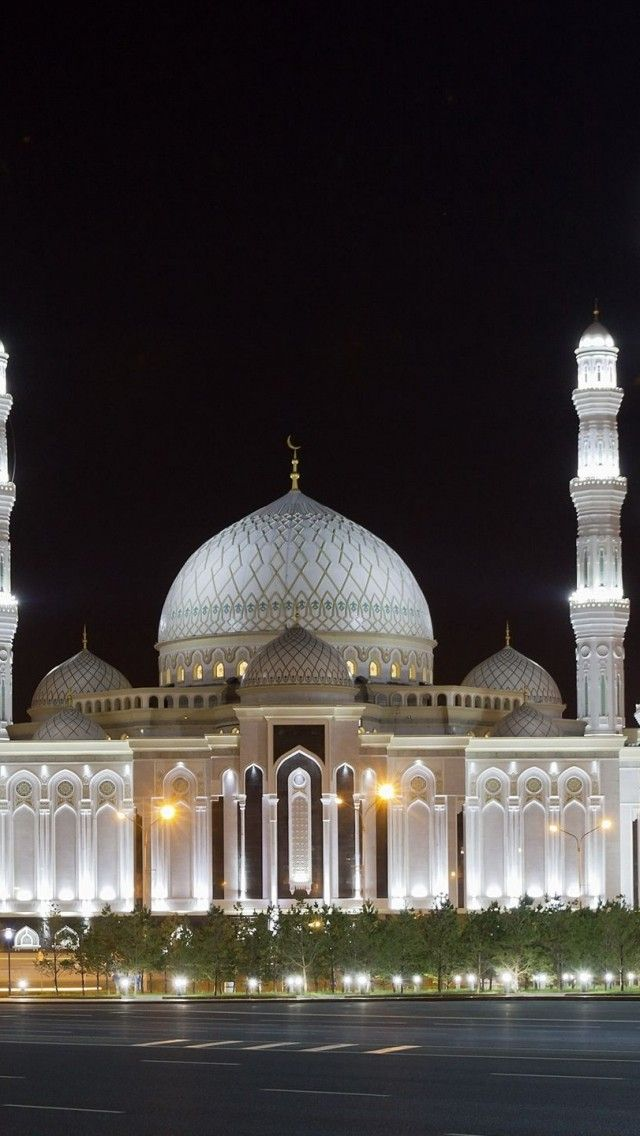 Hazrat Sultan is the mosque in Astana, Kazakhstan, the biggest mosque in Central Asia. Go to www.YourTravelVideos.com or just click on photo for home videos and much more on sites like this.