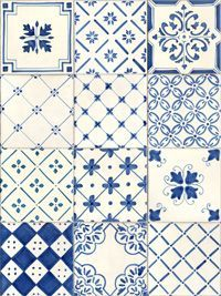 Very similar ceramic tiles, just one layer high (a splash board)  surround the sink in the small bathroom off my kitchen.