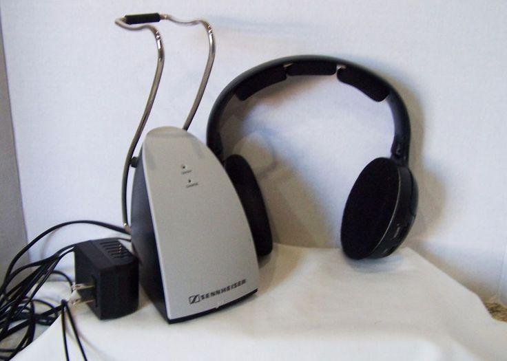 Sennheiser Wireless Headphones with charger model HDR120 #Sennheiser